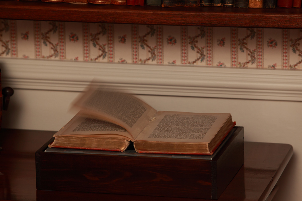 2010-Installation-at-The-Bronte-Parsonage-moving-book(2)